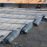 Impermeabilizacao com sistema manta com asfalto a aquente Obra fibria três lagoas - ms